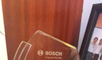 Award From Bosch