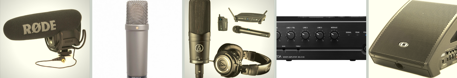 Wireless Microphones & Cables